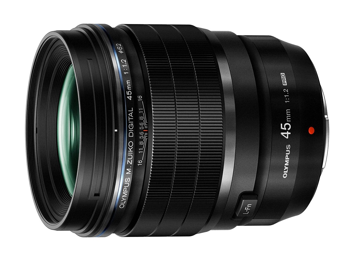 Olympus 45mm f/1.2 PRO lens officially announced