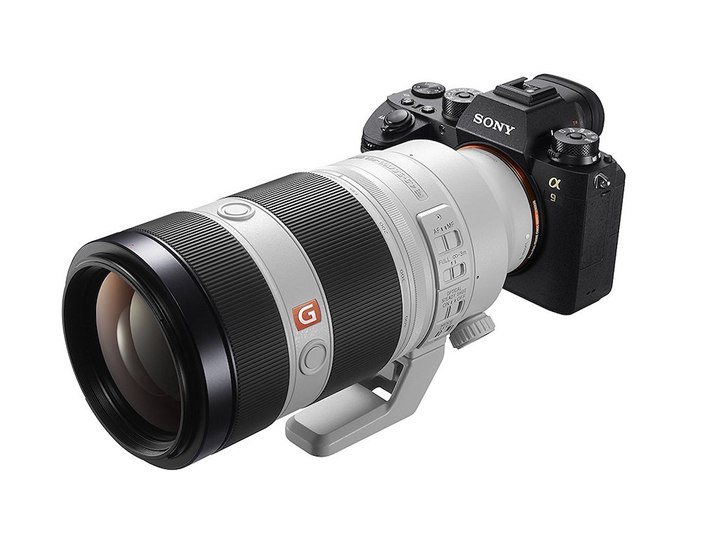 Sony FE 70-200mm & 100-400mm GM lens firmware updates released