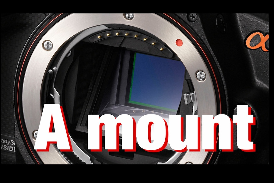 Sony will keep developing A-mount cameras and lenses