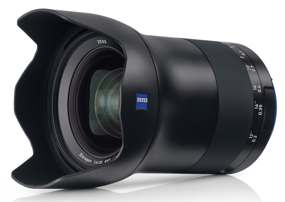Zeiss Milvus 25mm f/1.4 Lens Officially Announced