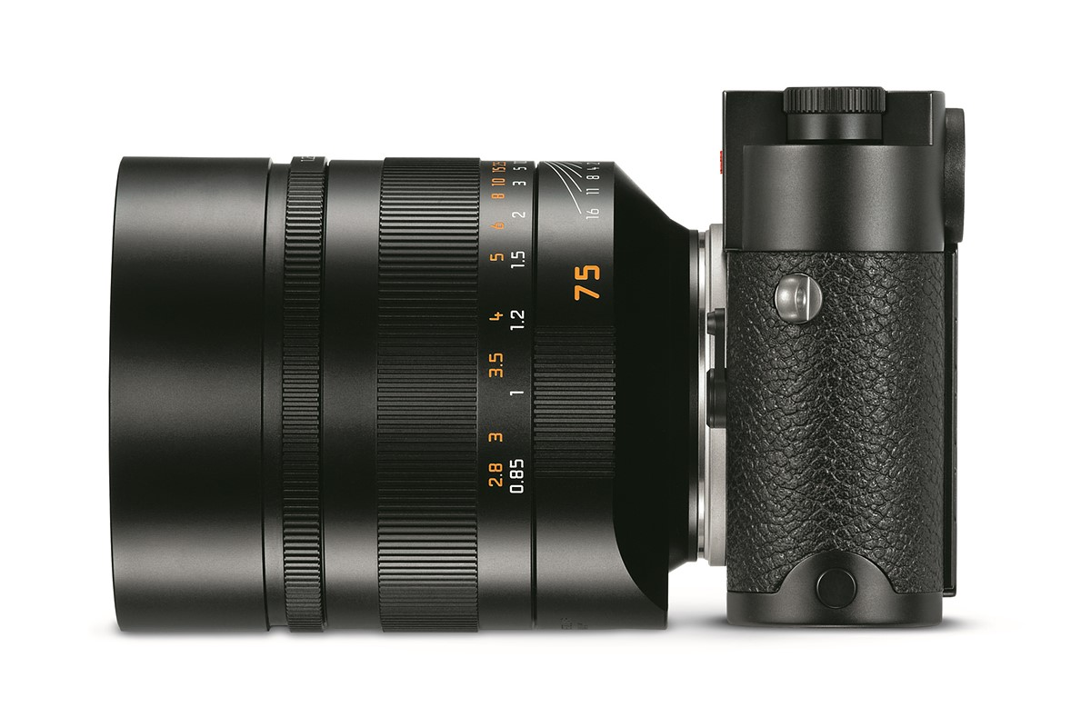 Leica Noctilux-M 75mm f/1.25 ASPH. Lens Announced, Price $12,795