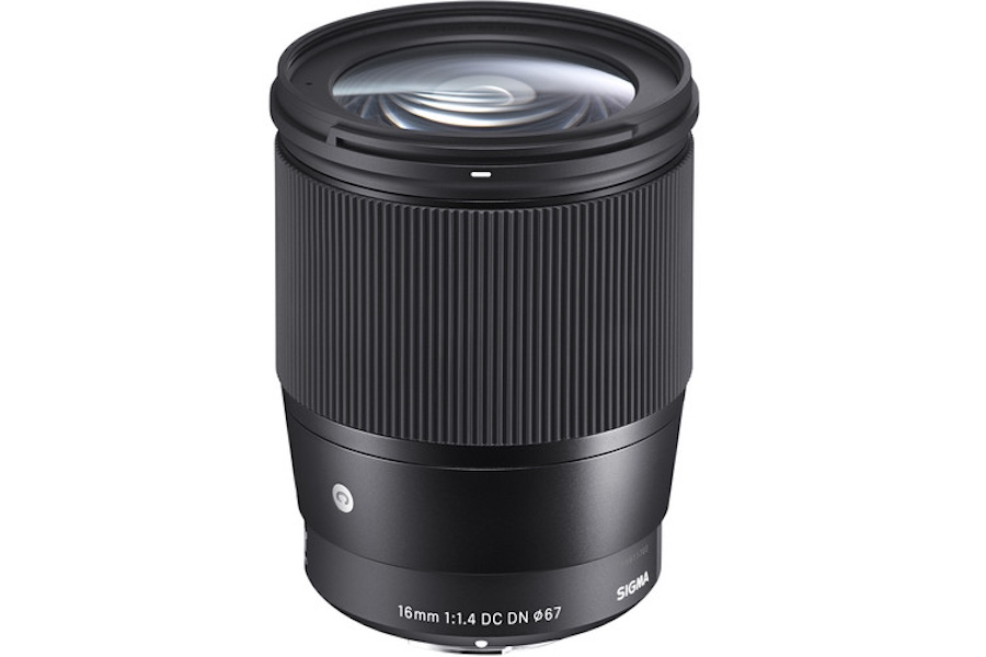 Sigma 16mm f/1.4 DC DN Contemporary lens price is $449, Available for Pre-Order