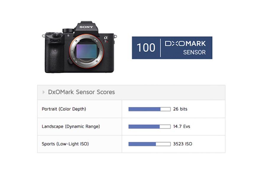 Sony A7R III Sensor Review : First Mirrorless to Hit 100 Points