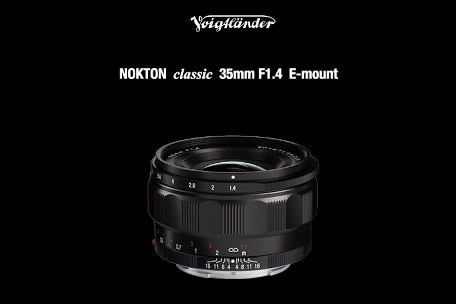 Voigtlander 35mm f/1.4 FE lens for Sony E-mount Price : $799