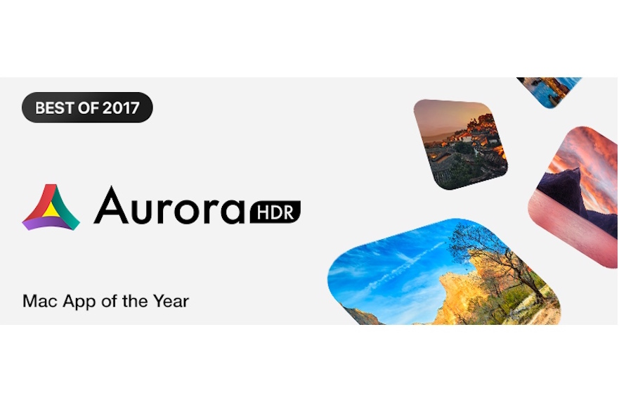 Aurora HDR is Mac App Store of the Year 2017