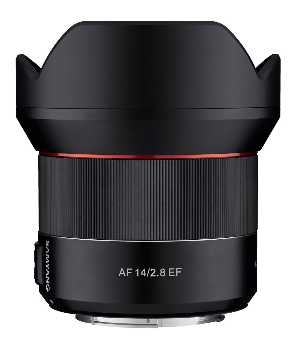 Samyang AF 14mm f/2.8 EF lens Coming Soon for Canon Mount