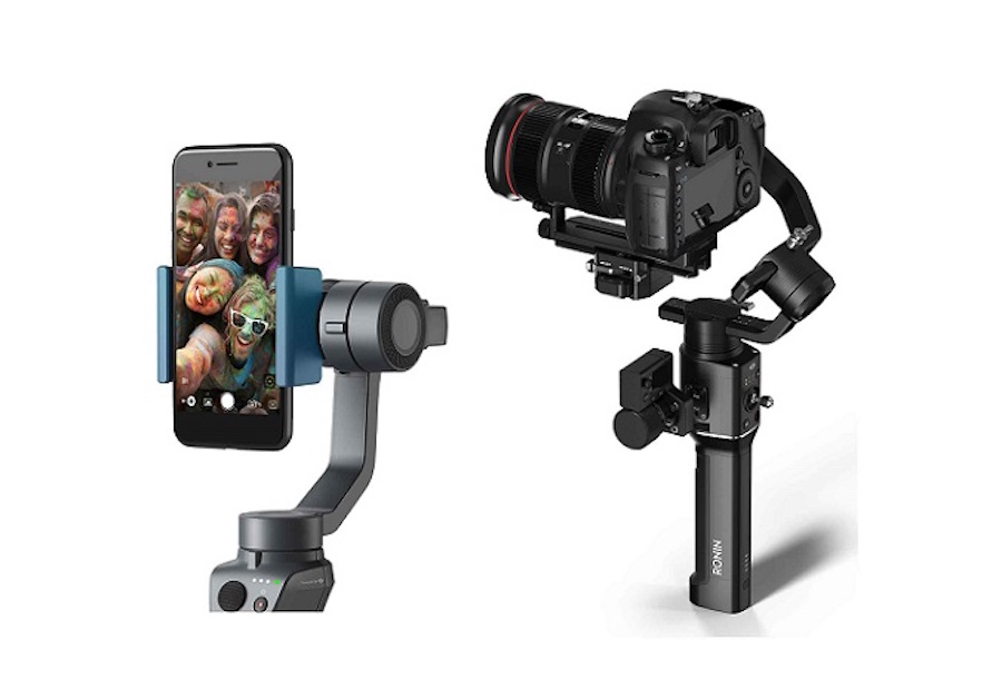 DJI reveals Ronin-S stabilizer for DSLR and mirrorless cameras