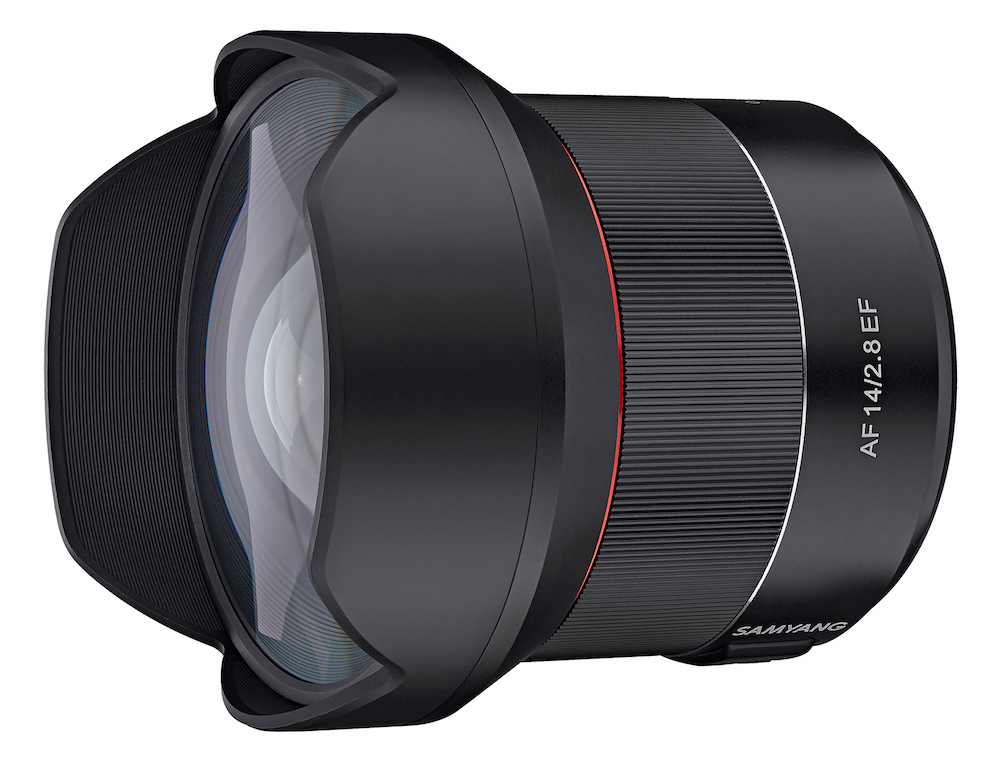 Samyang Launch AF 14mm F2.8 EF Lens for Canon DSLRs