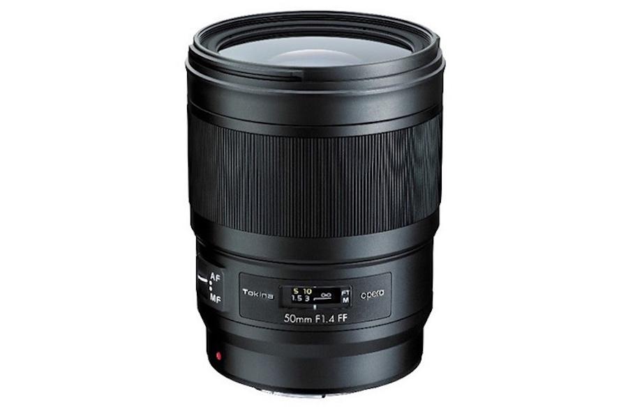 Tokina Opera 50mm f/1.4 FF lens announced for full frame DSLRs