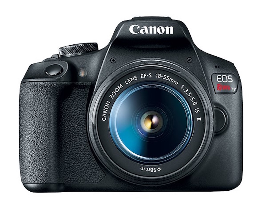 Canon unveils EOS Rebel T7 with updated 24MP sensor