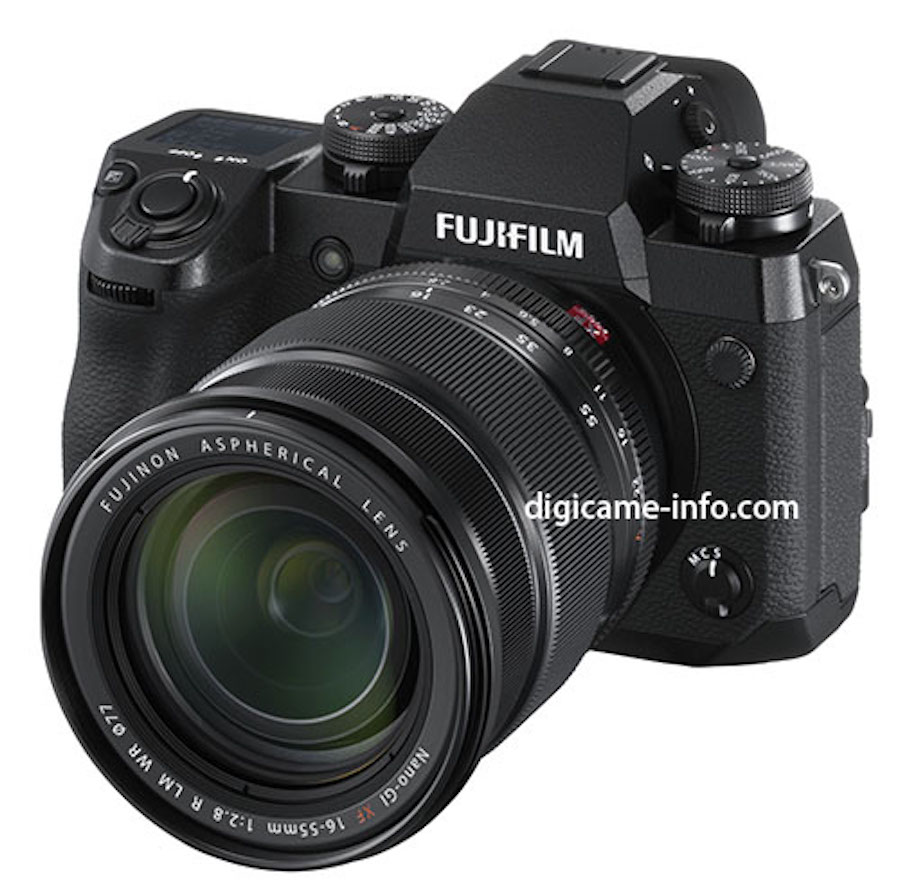 Fujifilm X-H1 Images, Specs, Price and Press Release Leaked