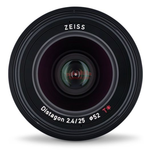 Zeiss Loxia 25mm f/2.4 Lens Specs and Images Leaked