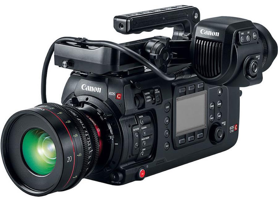 Canon EOS C700 FF Cinema Camera & CN-E 20mm T1.5 Lens Announced