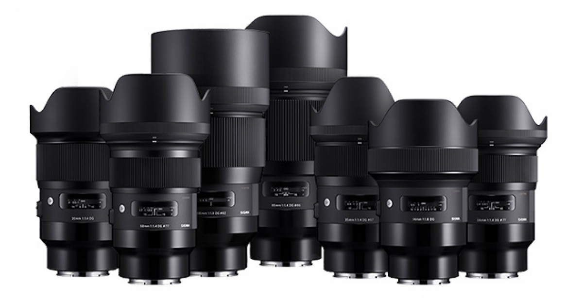 Pricing announced for the new Sigma DG HSM Art full frame E-mount lenses for Sony cameras