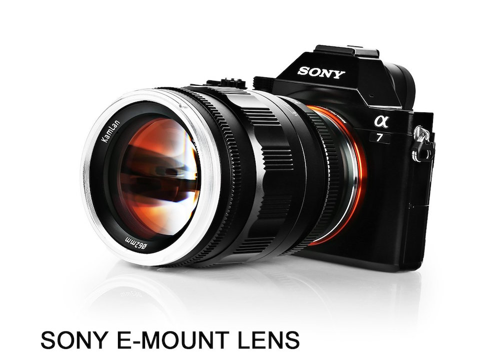 Sainsonic announced Kamlan 55mm f/1.2 And 8mm f/3 Lenses for Sony E-mount