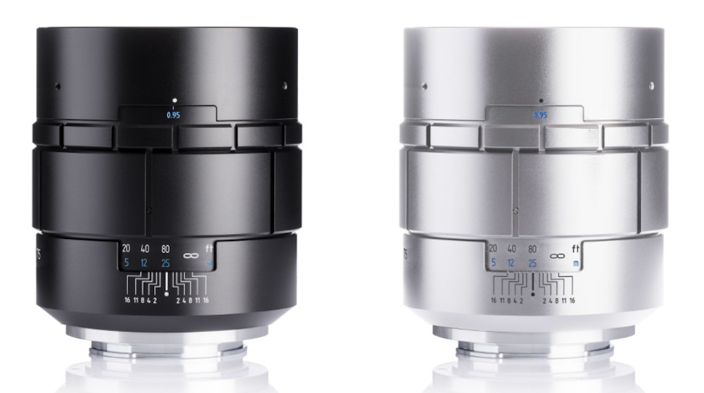Meyer Optik Nocturnus 75mm f/0.95 mirrorless lens announced