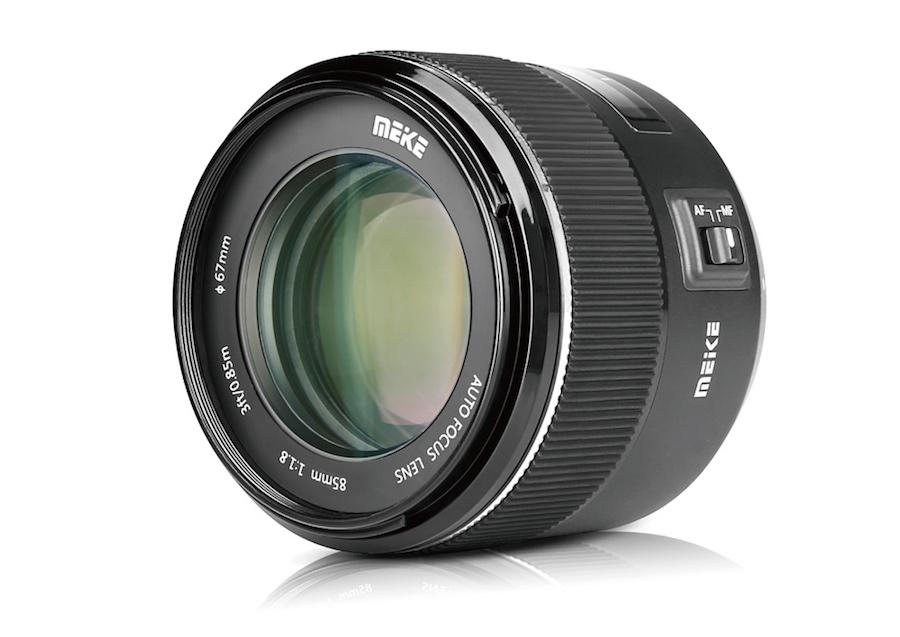 Meike 85mm f/1.8 AF full frame lens announced for Canon EF mount