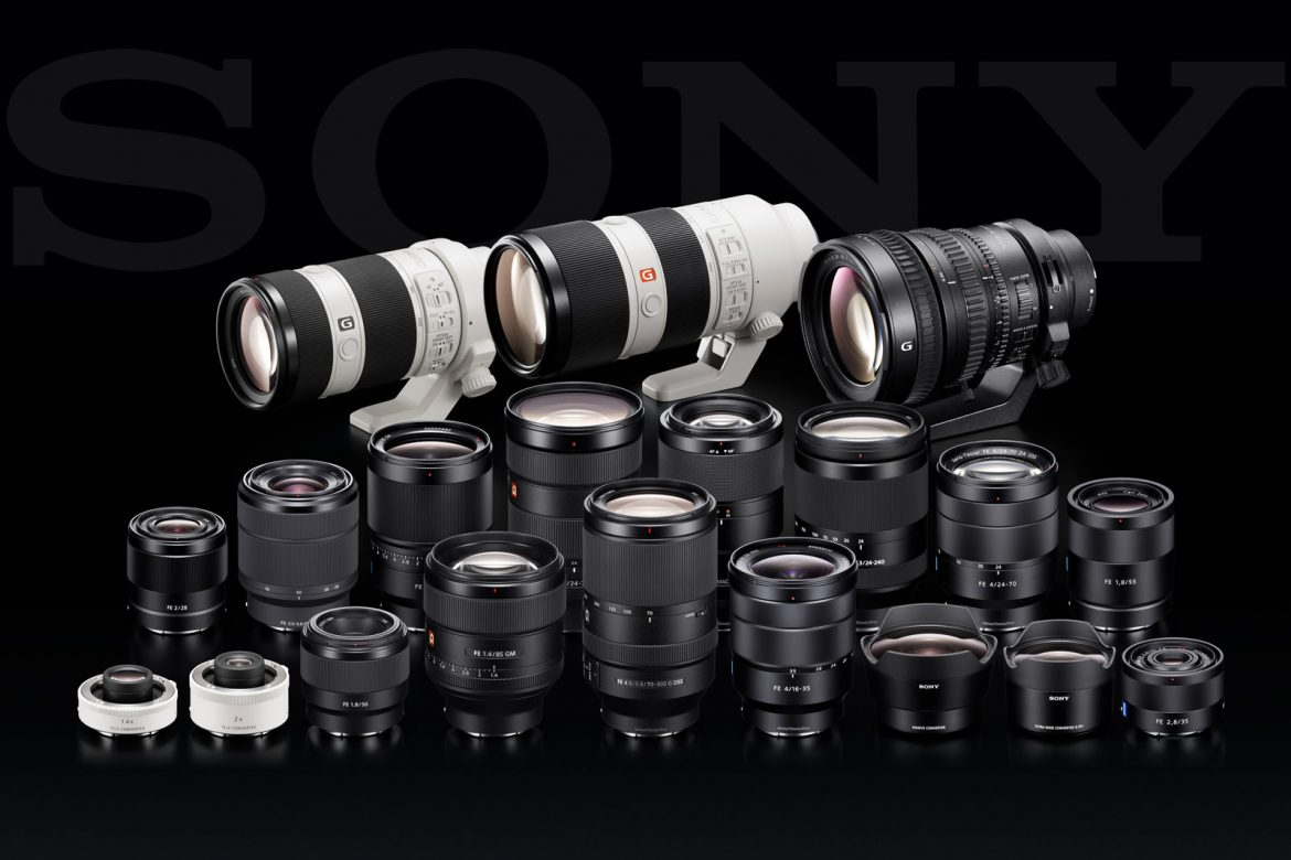 Sony Lenses - Complete List