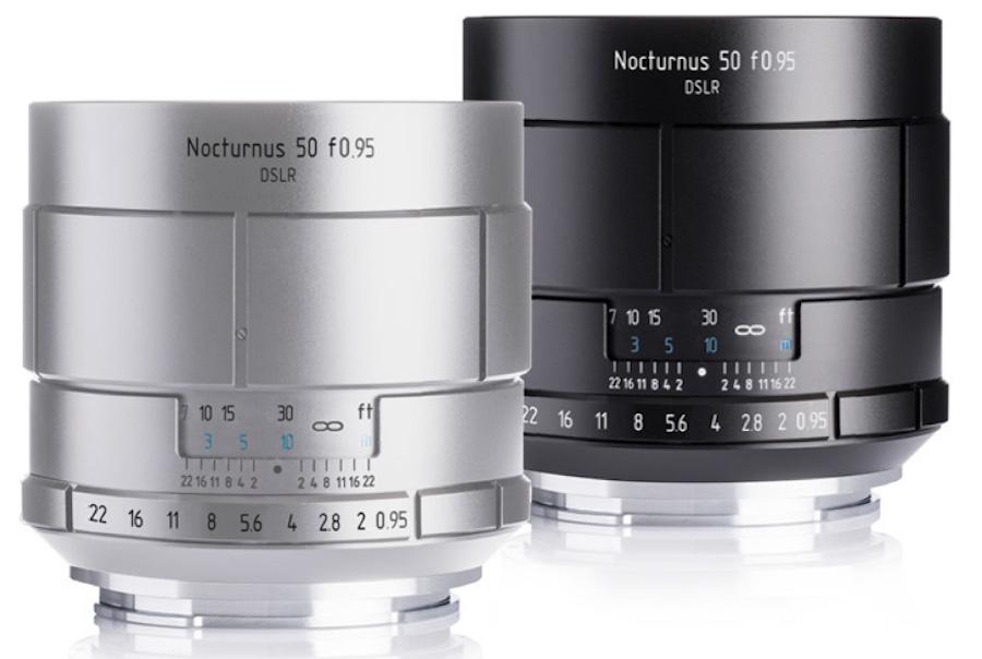 Meyer Optik Nocturnus 50mm f/0.95 lens for DSLR cameras