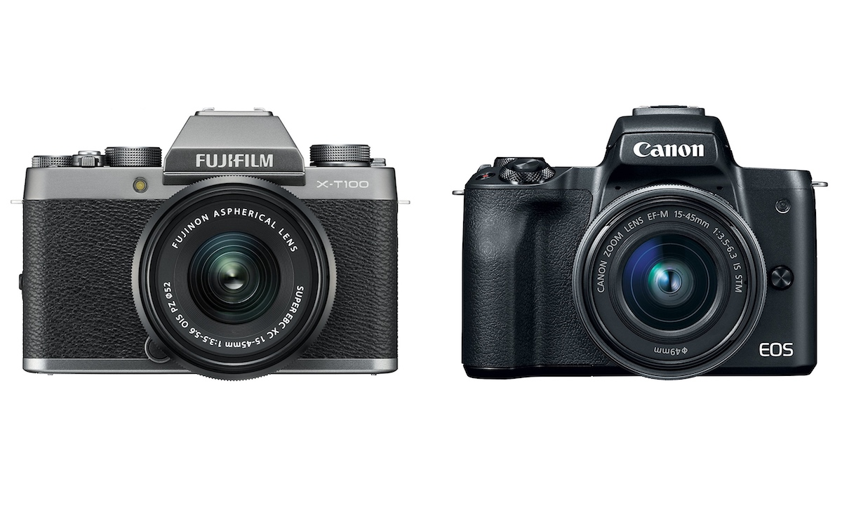 Fujifilm X-T100 vs Canon M50 – Comparison