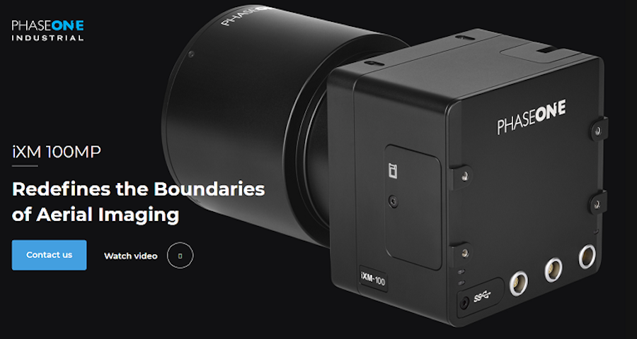 Phase One announced the world's first camera using the new Sony 100 Megapixel back-illuminated sensor