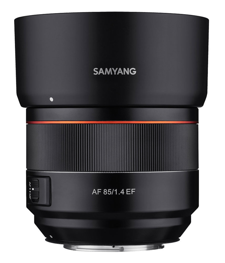 Samyang AF 85mm f/1.4 EF Lens Announced for Canon DSLRs