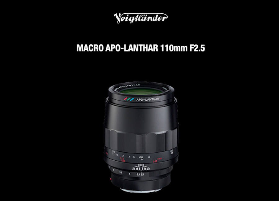 Voigtlander Macro APO Lanthar 110mm f/2.5 lens announced for Sony E-mount