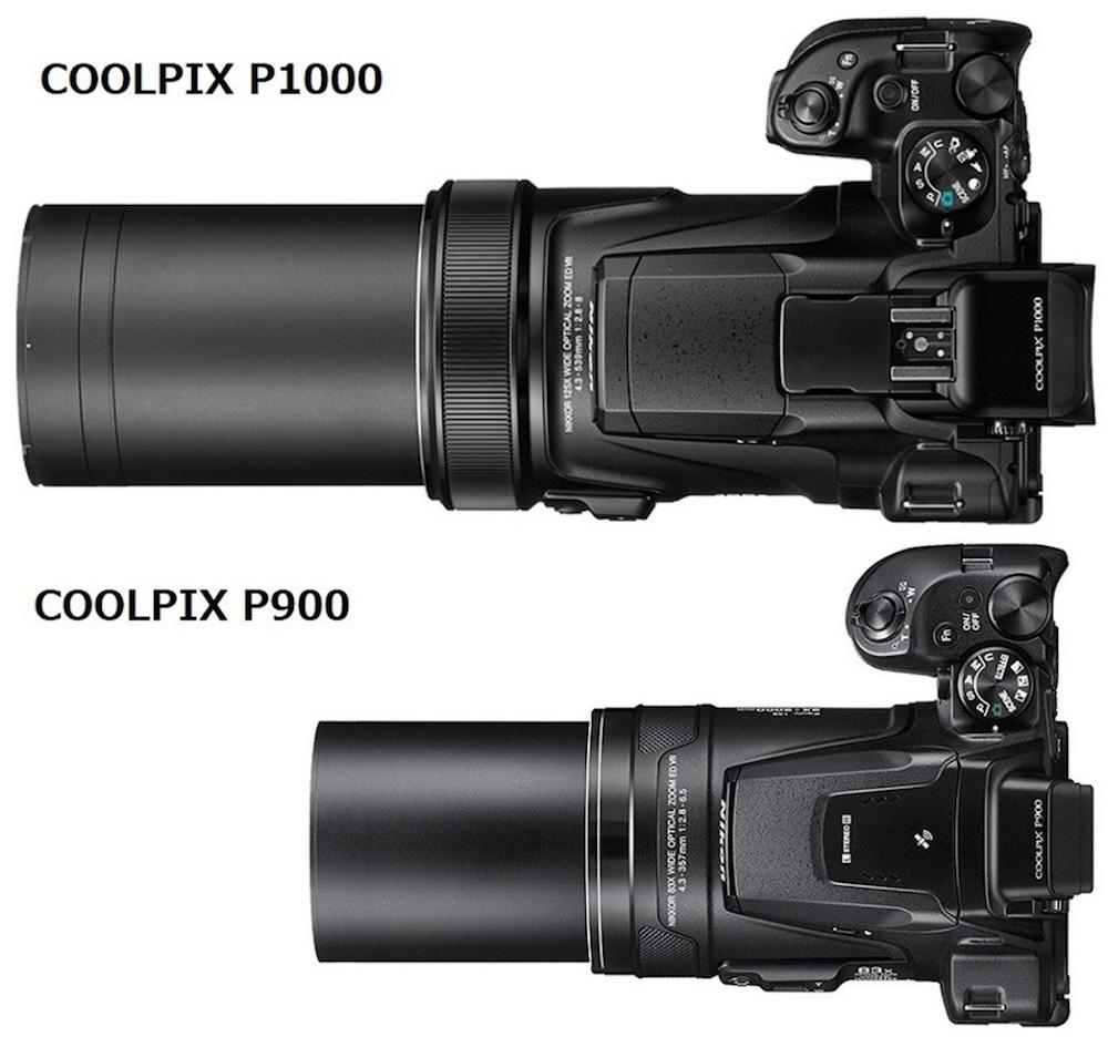 Nikon P1000 vs Nikon P900 - Comparison