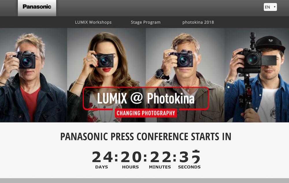 Breaking : Panasonic Full Frame Mirrorless Camera to be Announced on September 25th