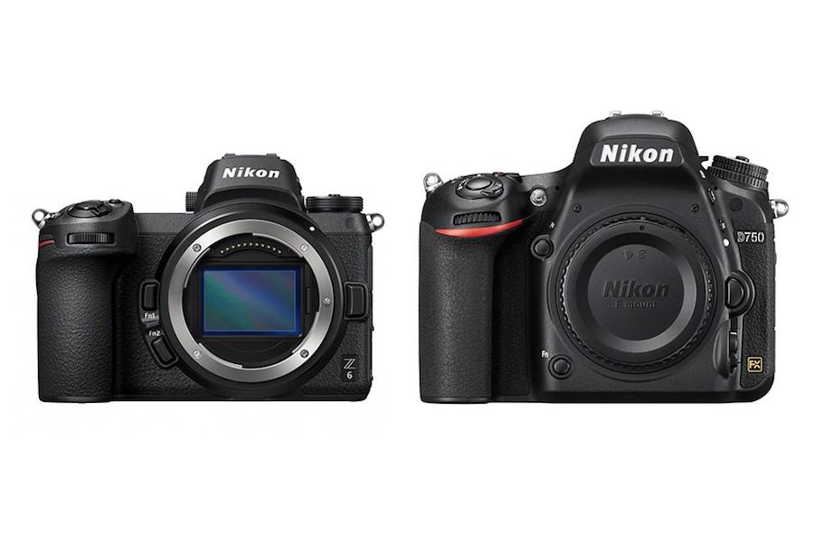 Nikon Z6 vs Nikon D750 - Comparison