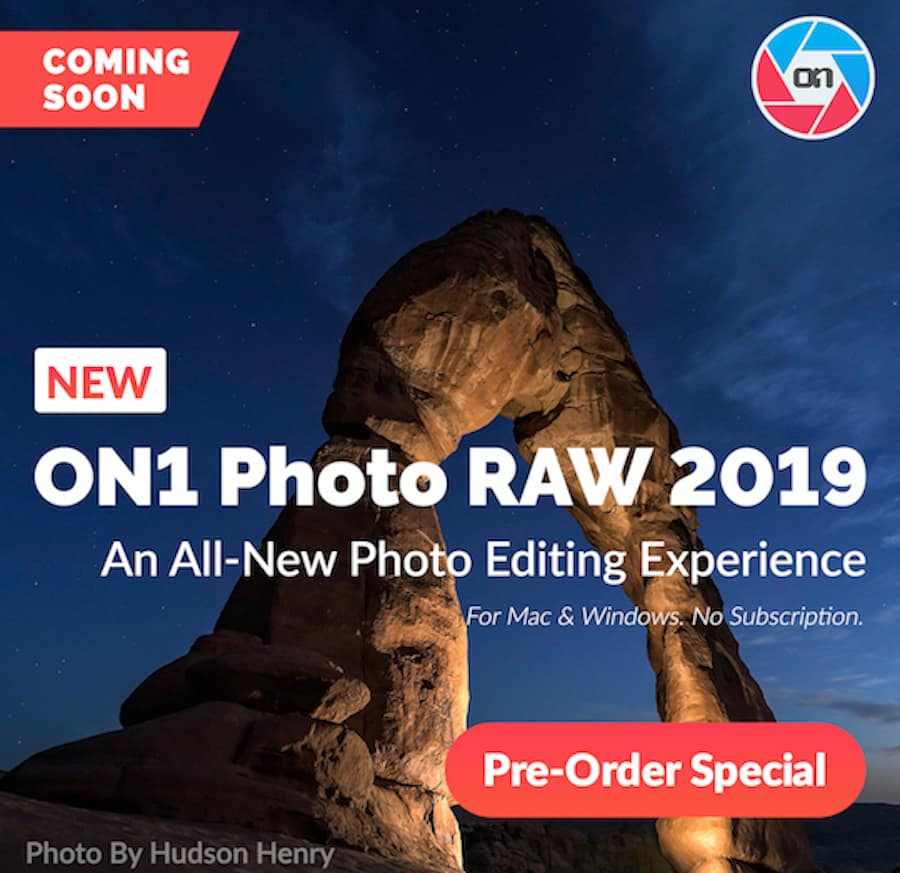 ON1 Photo RAW 2019 Gets the First Update for Free