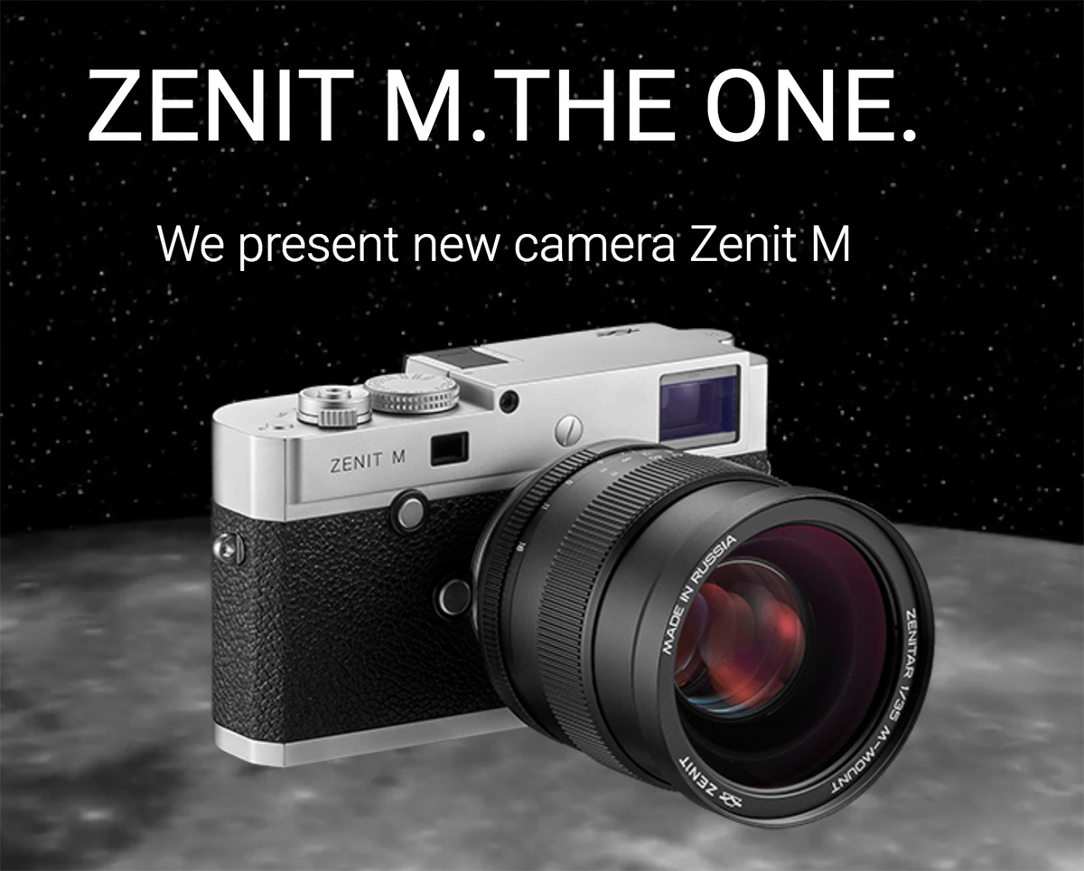 Zenit M camera and Zenitar 35mm f/1.0 lens Additional Information