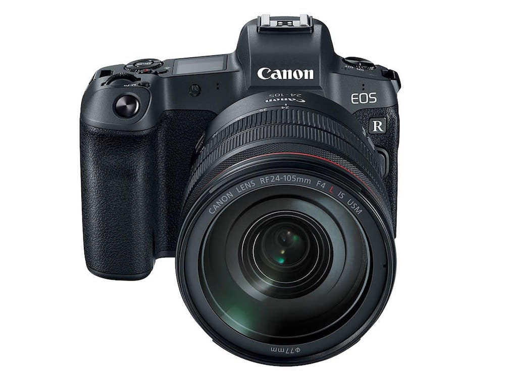 Canon 8K capable EOS R camera in development