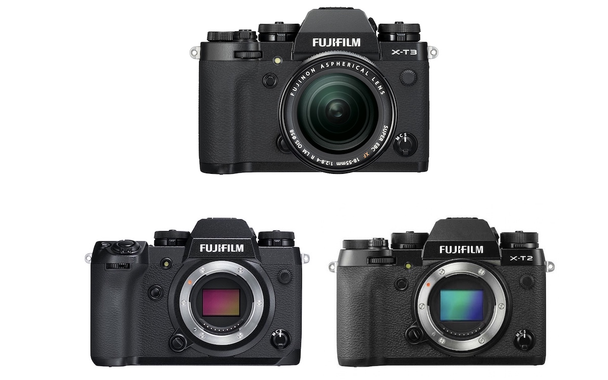 Fujifilm X-T3 vs X-H1 vs X-T2 – Comparison
