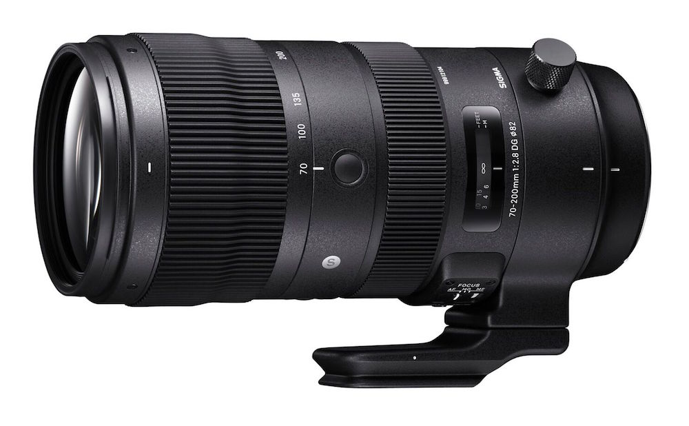 Sigma 70-200mm F2.8 DG OS HSM Sports Lens Coming on December 14, 2018
