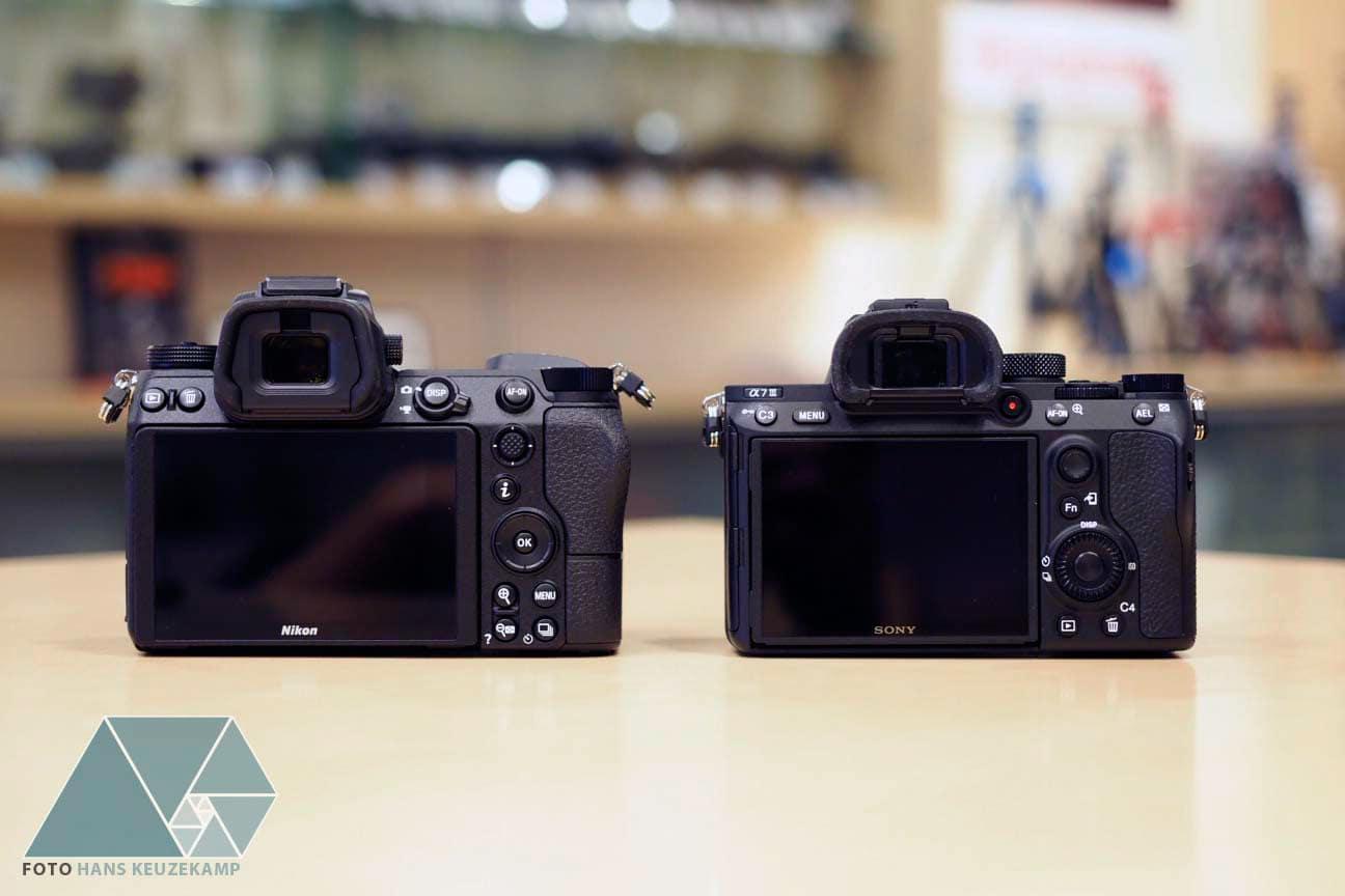 Canon EOS R vs Nikon Z7 vs Sony A7 III Side by Side Comparison