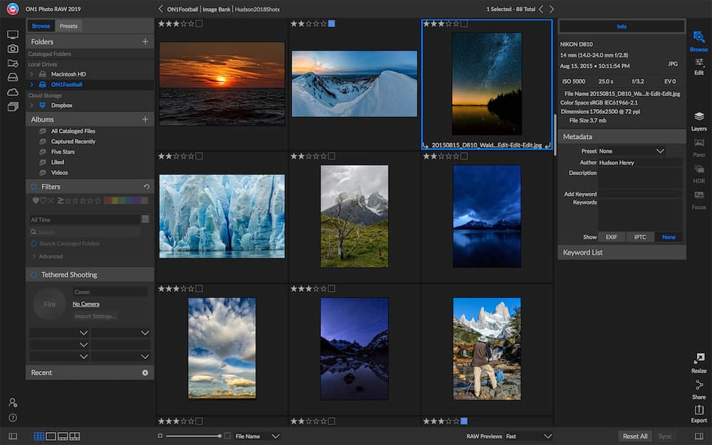 ON1 Photo RAW 2019 Released, Available for Download