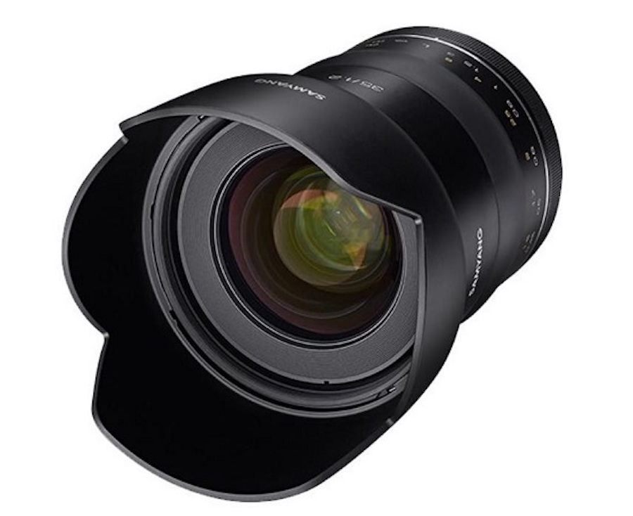 Samyang XP 35mm f/1.2 Lens Coming Soon