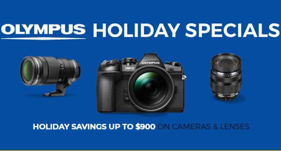 Deal : Up to $900 off on Olympus Cameras and Lenses