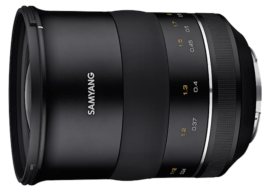 Samyang XP 35mm f/1.2 Lens for Canon Officially Announced