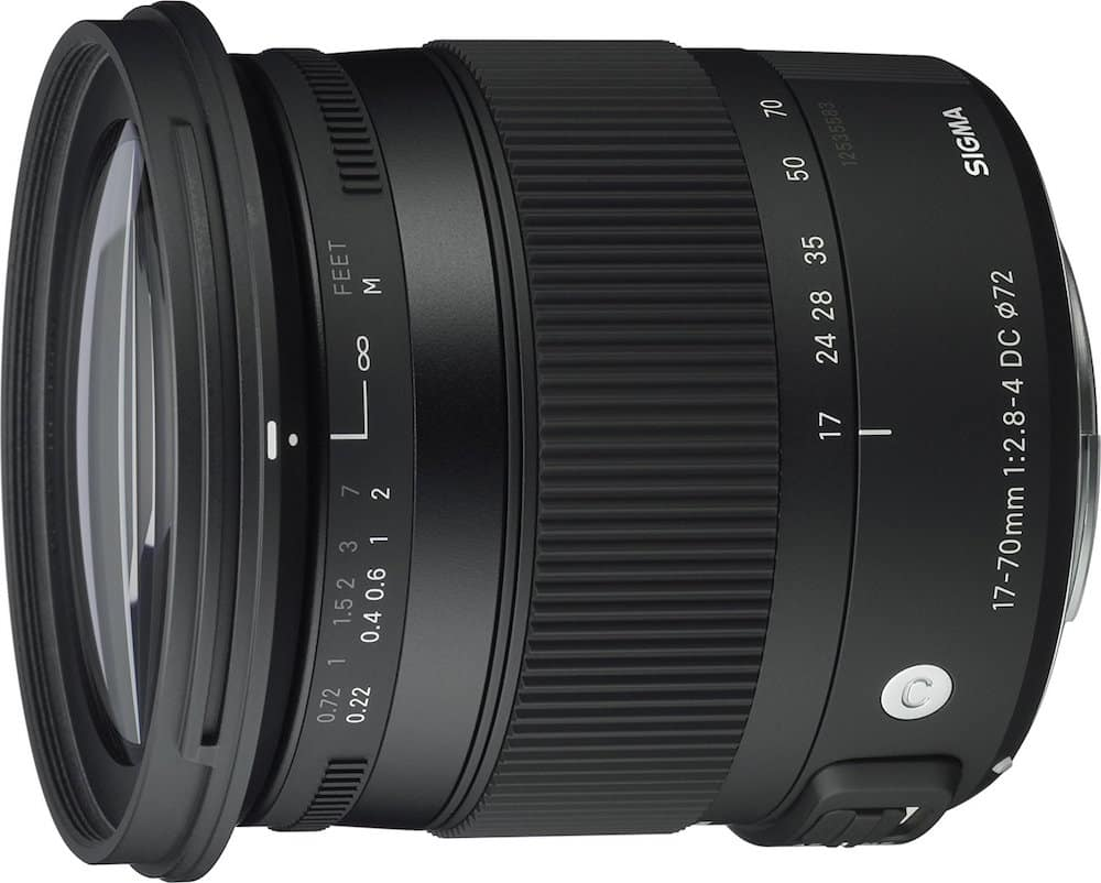 SIGMA Released 17-70mm F2.8-4 DC MACRO OS HSM Firmware Update for Canon