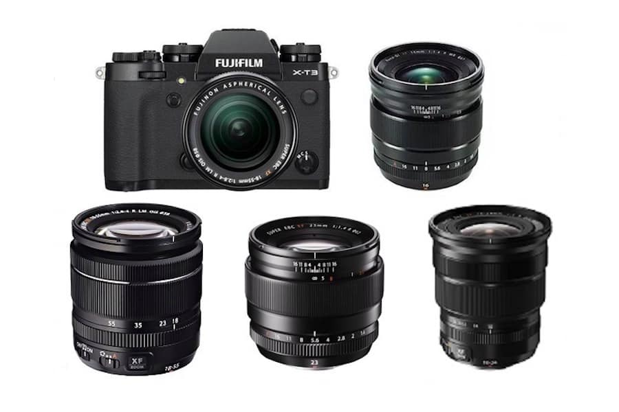 Best Lenses for Fujifilm X-T3 in 2019