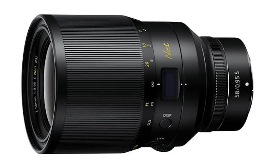 A COVETED CLASSIC REBORN AS A MODERN MASTERPIECE: NIKON RELEASES THE FASTEST NIKKOR LENS EVER CREATED, THE NIKKOR Z 58MM f/0.95 S NOCT