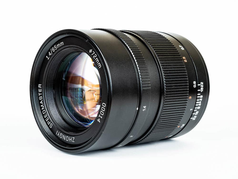 Mitakon Speedmaster 65mm F1.4 lens for Fujifilm GFX