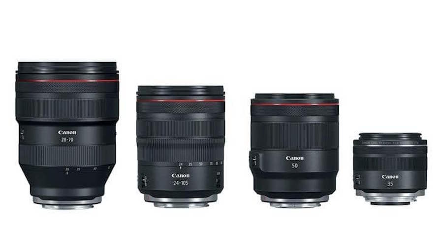Canon to Announce 7 new RF Lenses in 2019