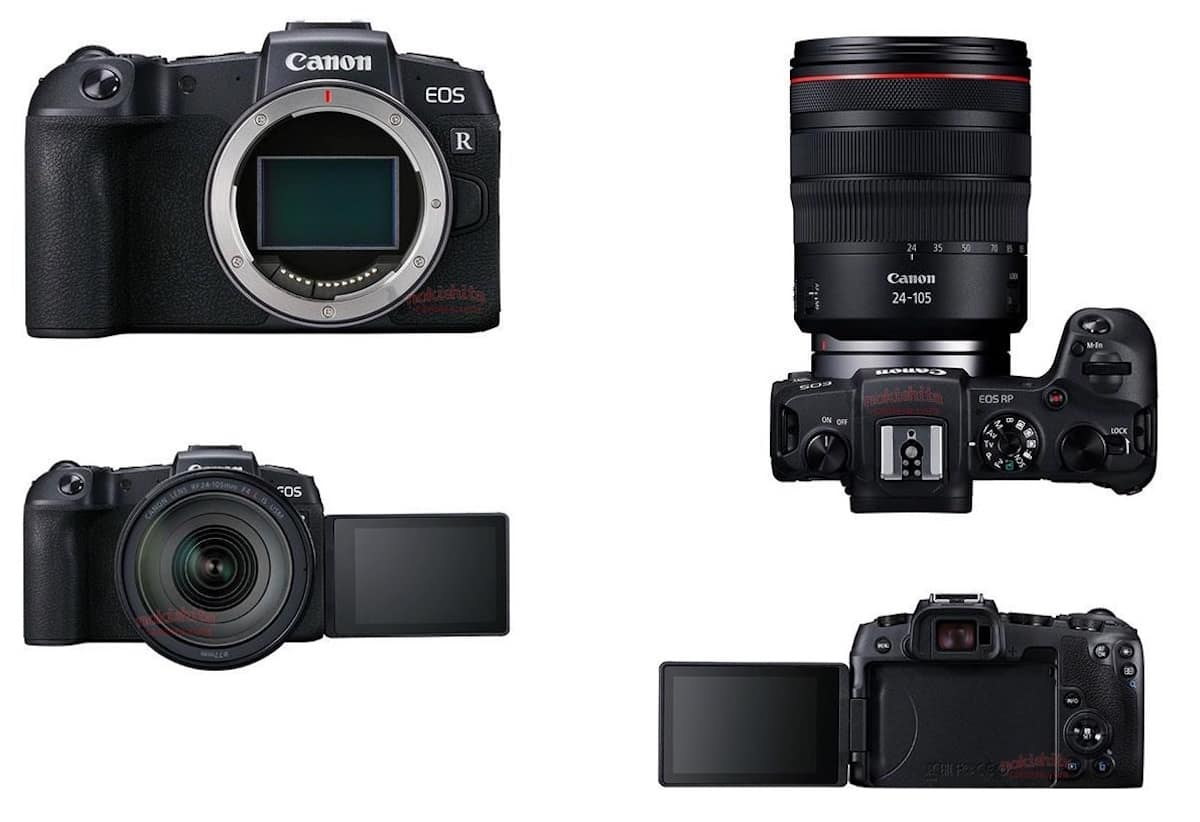 Breaking : Canon EOS RP Specifications & Images