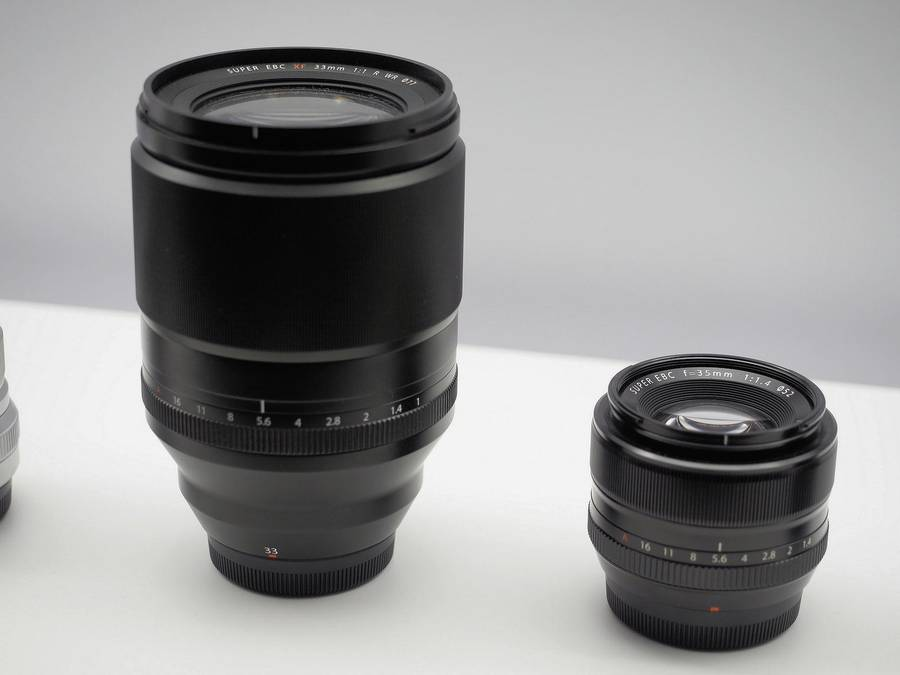 Fujifilm XF 33mm f/1 R WR Lens on Display at CP+ 2019