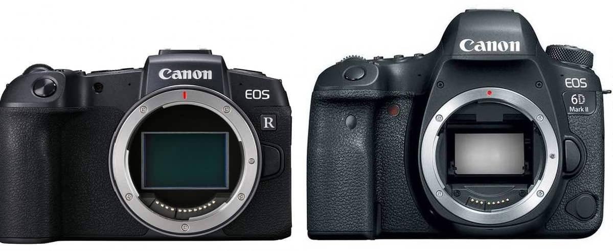 Canon EOS RP vs Canon EOS 6D Mark II - Comparison
