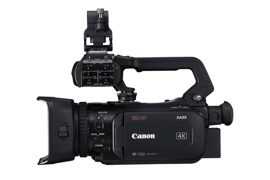 Four New Canon XA Professional Camcorders Feature 4K 30p High-Quality Recording XA55, XA50, XA45 and XA40 Camcorders Deliver Crisp 4K Imagery in Compact Bodies at Affordable Price Points