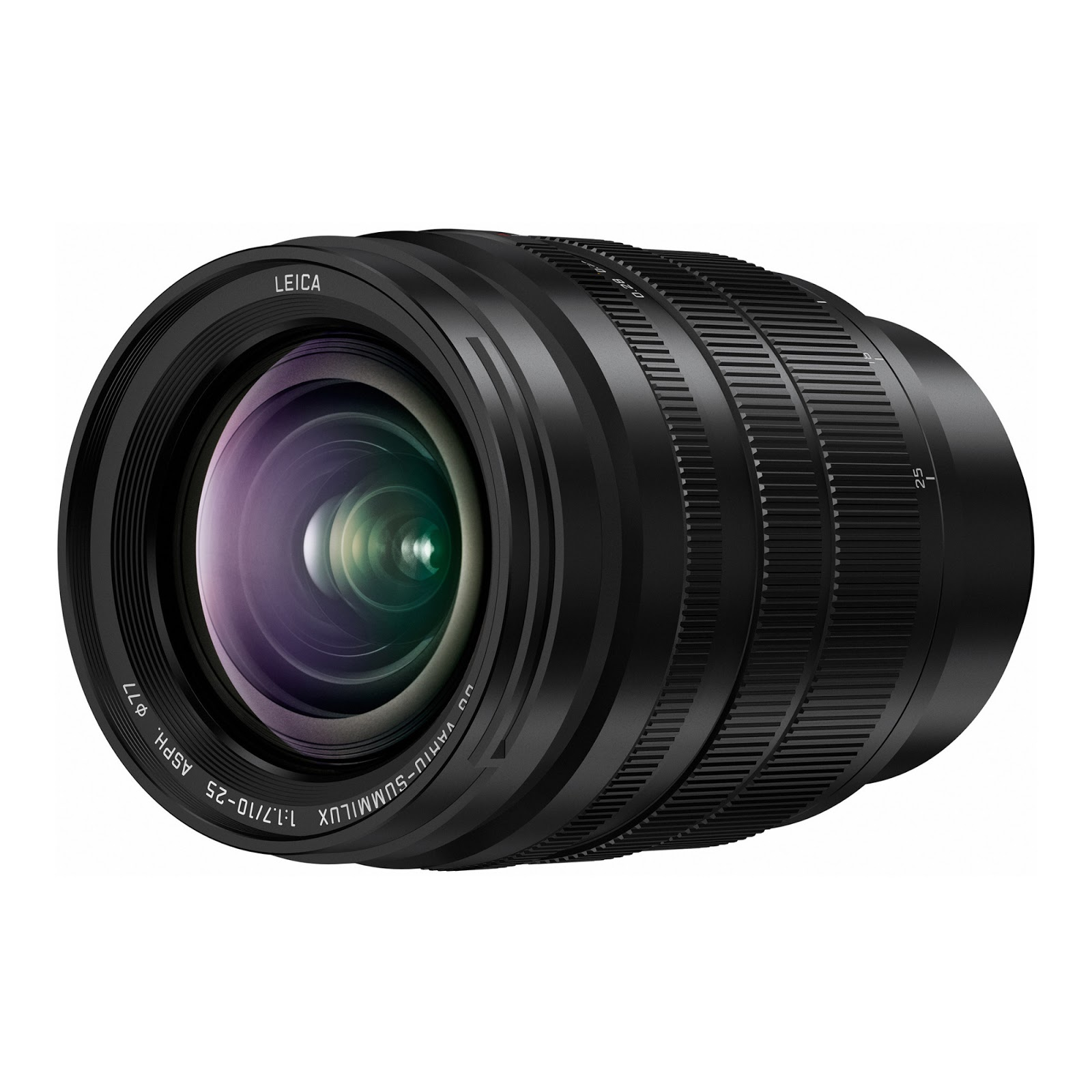Panasonic Leica 10-25mm f/1.7 ASPH MFT Lens Officially Announced